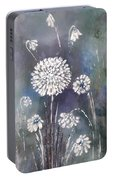 #1083 Wild Flower #1 Portable Battery Charger
