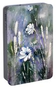 #1084 Wild Flowers #2 Portable Battery Charger