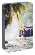 Backwaters Kerala - India Portable Battery Charger