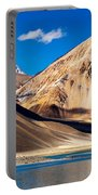 Mountains Pangong Tso Lake Leh Ladakh Jammu And Kashmir India Portable Battery Charger