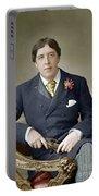 Oscar Wilde (1854-1900) Portable Battery Charger