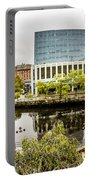 Providence Rhode Island City Skyline In October 2017 Portable Battery Charger