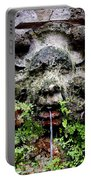 Public Fountain In Palma Majorca Spain Portable Battery Charger