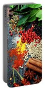 Spices And Herbs Portable Battery Charger