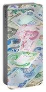 Travel Money - World Economy Portable Battery Charger