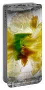 11264 Flower Abstract Series 02 #17 - Carnation Portable Battery Charger