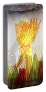 11322 Flower Abstract Series 03 #20 Portable Battery Charger