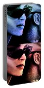 11438 Mannequin Series 11-14 Can You Keep A Secret Pop Art 2 Portable Battery Charger