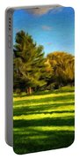 Nature Pictures Of Oil Paintings Landscape Portable Battery Charger