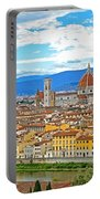 1166 Florence Italy Portable Battery Charger