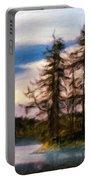 Landscape Nature Scene Portable Battery Charger