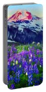 Nature Landscape Graphics Portable Battery Charger