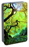 12 Abstract Japanese Maple Tree Portable Battery Charger