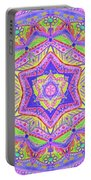 Birth Mandala- Blessing Symbols Portable Battery Charger