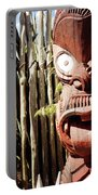 Maori Carving Portable Battery Charger
