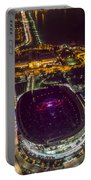 The Grateful Dead At Soldier Field Aerial Photo Portable Battery Charger