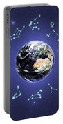 12 Zodiac Constellations Portable Battery Charger