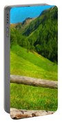 Nature Landscape Art Portable Battery Charger