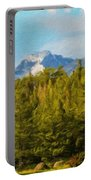Landscape Paintings Canvas Prints Nature Art  Portable Battery Charger