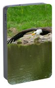Bald Eagle  Portable Battery Charger
