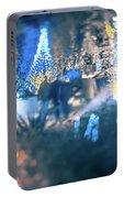 Christmas Light Bokeh At Daniel Stowe Gardens Belmont North Caro Portable Battery Charger