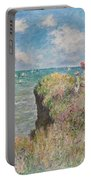 Cliff Walk At Pourville Portable Battery Charger