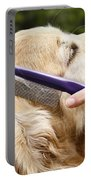 Dog Grooming Portable Battery Charger by Photo Researchers Inc