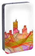 Fort Worth Texas Skyline Portable Battery Charger