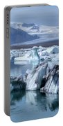 Jokulsarlon - Iceland Portable Battery Charger