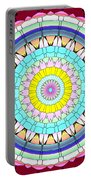 Mandala Ornament Portable Battery Charger