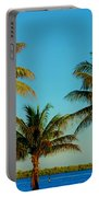 13- Palms In Paradise Portable Battery Charger