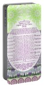 Sukkot-ushpizin Prayer- The Hosts... Portable Battery Charger