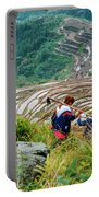 Longji Terraced Fields Scenery Portable Battery Charger