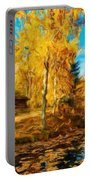 Oil Painting Landscape Pictures Nature Portable Battery Charger