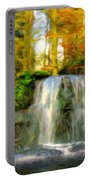 Nature Landscape Graphics Portable Battery Charger