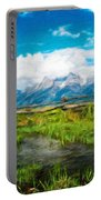 Nature Cool Landscape Portable Battery Charger