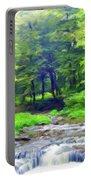 Nature Landscape Artwork Portable Battery Charger