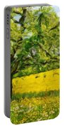 Oil Painting Landscape Pictures Portable Battery Charger