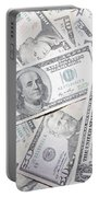 American Banknotes Portable Battery Charger