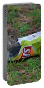 14- Chip Lovin' Squirrel Portable Battery Charger