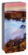 Landscape Paintings Nature Portable Battery Charger