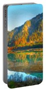 Nature Original Landscape Painting Portable Battery Charger