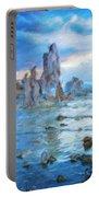 Art Landscape Nature  Portable Battery Charger