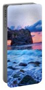Nature Landscape Paintings Portable Battery Charger