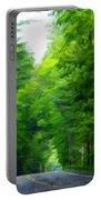 Nature Art Original Landscape Paintings Portable Battery Charger