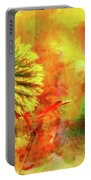 American Beach Cottage Art And Feelings Portable Battery Charger