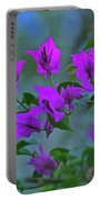15- Bougainvillea Portable Battery Charger