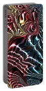 Fractal Modern Art Seamless Generated Texture Portable Battery Charger