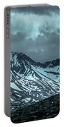Rocky Mountains Nature Scenes On Alaska British Columbia Border Portable Battery Charger
