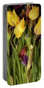 Tulips Wilting Portable Battery Charger